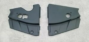 Ford Mustang 05-09 Radiator Extensions Matte Black Made in the USA