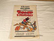 TOPOLINO E PIEDIDOLCI il messaggero 15 LUGLIO 1989