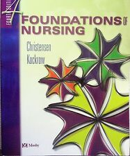 Foundations of Nursing & Study Guide 4th Edition (Two Books) Excellent Condition