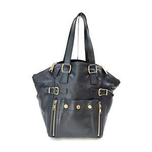 Yves Saint Laurent Hand Bag  Black Leather 2207028