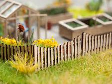 Noch 14230 gauge H0,Wooden Fence (Laser Cut Minis Kit) # NEW ORIGINAL PACKAGING