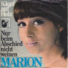 7 45 Marion - Klopf auf Holz RARE dt. Schlager Single Hansa Records RARE