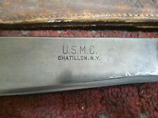 Vintage Marine Corps Bolo Bowie Knife