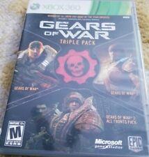 Gears of War, GOW 2, GOW Judgement, Custom Pack, Microsoft Xbox 360, No Brochure