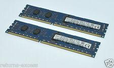 Hynix 4GB KIT 2 X 2GB PC3L-10600 DDR3-1333MHz DIMM 1.35V HMT325R7CFR8A-H9