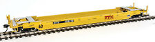 Walthers Proto HO Scale Gunderson Rebuilt 40' Well Car Trailer-Train/DTTX 455316