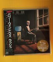 RUSH Power Windows JAPAN SHM MINI LP CD OBI NEU WPCR-13482