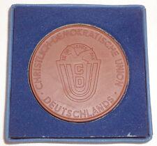 DDR-cdu - 25 años fidelidad colaboración-porcelana-mirar (11214/575n)