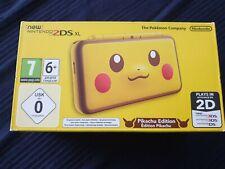 Consola New Nintendo 2ds Xl Pikachu Edition NUEVA