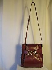 sac vintage TEXIER cuir fauve