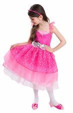 Nib* Girl's Barbie A Fashion Fairytale Glam Dress Up Set Costume ~ Sz 4 5 6X