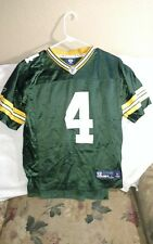 GREEN BAY PACKERS JERSEY - YOUTH LARGE - THROWBACK - FAVRE - REEBOK