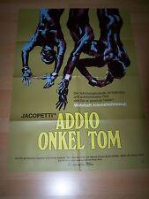 ADDIO, ONKEL TOM - Kinoplakat A1 ´72 - JACOPETTI Prosperi