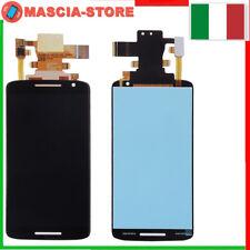 TOUCH SCREEN LCD DISPLAY  Motorola MOTO X Play XT1562 XT1563 Nero Schermo