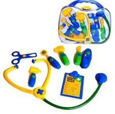 New Kids 9PC Dr Médecins Infirmières Dress up jeu de rôle Jouet Médical Carry Case Set Kit