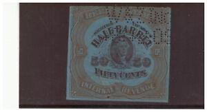 SC.REA79 1902 .50 CENT BEER STAMP #3 PG37
