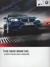 PROSPEKT BROCHURE BMW M5 2013 (USA)