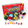 2.8'' 8Pcs Pokeball Pokeball Pokemon Action Figures Christmas Toys UK STOCK