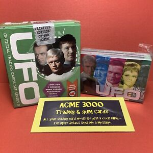Unstoppable UFO Series 3 Basic Base Set of 54 Trading Cards + GREEN BOX Only