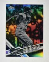 2017 Topps Chrome Negative Refractors #179 Dexter Fowler - NM-MT