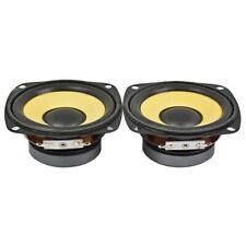 2Pcs 3Inch Audio Portable Full Range Speaker 4Ohm 10W Multimedia Loudspeaker