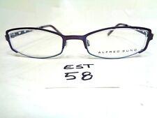 New ALFRED SUNG Eyeglass Frame AS4729 Canadian Design Lavender (EST-58)