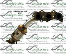 Catalytic Converter-Exact-Fit - Manifold Left Davico Exc CA 17374
