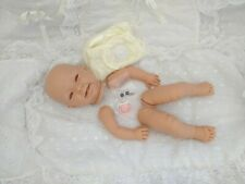 """Kit de muñeca de vinilo suave """"cuerpo de disco completo de las extremidades Susie"""" Ojos azules maniquí rosa."""