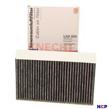 MAHLE Carbon Activated Pollen Air Filter Cabin Filter - LAK684 LAK 684