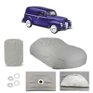 Ford Sedan Delivery 6 Layer Car Cover Fitted Outdoor Water Proof Rain Sun Dust