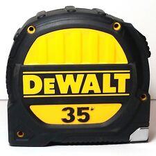 DeWALT 35' Tape Measure Heavy Duty Rugged Molded Rubber Grip Magnetic End