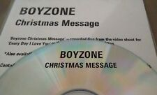 Boyzone 'Christmas Message' 1 Track Promo CDr (1999)