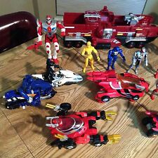 14 Power Rangers Transformerwith Operations Overdrive Mission, More Vehicles Lot