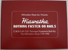 Hiawatha - Nothing Faster on Rails - Milwaukee Road's 1936-1942 Hiawatha's