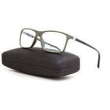 Starck Eyes 1043 BioZero Eyeglasses 07 Black Green Frame / RX Clear Lens 56 mm