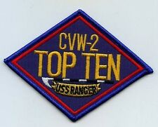 FANCY DRESS HALOWEEN PARTY AS TOP GUN MOVIE CENTURION 100 CV61 USS RANGER PATCH