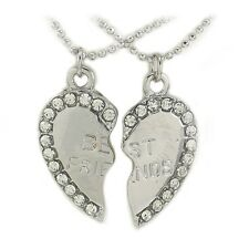 Best Friends BFF Split Heart Charm Anklets Great Gift for end of school year