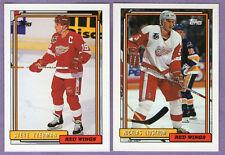 1992-93 Topps Detroit Red Wings Team Set