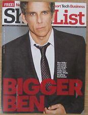 Ben Stiller - Shortlist magazine – 19 December 2013