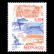 Monaco 2004 - Stadium Louis II, Monaco Architecture - Sc 2353 MNH
