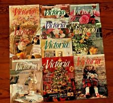 Lot of 10 Bliss Victoria Magazine Back Issues Jan - Dec 1996 no March or Nov