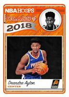 2018-19 Panini Hoops Class of 2018 Inserts NBA Basketball Rookie Cards RC