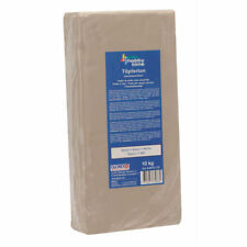 Neuf Glorex Argile Unschamottiet 10kg Blanc