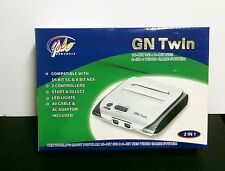 BRAND NEW BLACK YOBO GN TWIN PLAY SEGA GENESIS & NES 8 BIT NINTENDO GAMES
