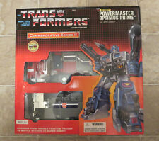 In USA* NEW Transformers Commemorative Powermaster Optimus Prime Apex Reissue G1