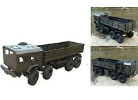 AMXrock Truck Heavy Metal No.8 Scaled Body Metal 4 achser Fertigmodell NEU 22162