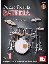 Quiero Tocar La Bateria, New, Barba, Victor Book