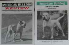 American Bulldog Review Complete set. 39 issues,2,496 pages 1995 - 2006