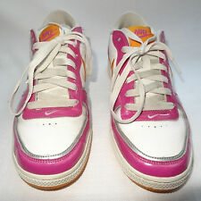 NIKE AIR Women's Indee White/Pink Basketball Athletic Shoes Shoes - Size 9 VGUC