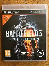 Battlefield 3 Limited Edition (unsealed) - PS3 UK Release New!